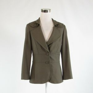 Cool brown ETCETERA  long sleeve jacket 2 NWOT